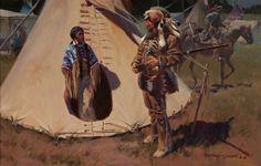 Gary Carter Western Artist : Original Western Paintings, Drawings for Sale Native Art, Native American Indians, Gary Carter, Original Paintings For Sale, Indian Paintings, Art Paintings, Indian Heritage, Mountain Man, People Art