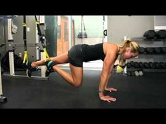 Try one of the following TRX ab workouts to create definition, burn belly fat and improve your core strength.