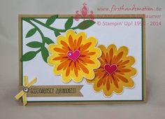 Stampin' Up! by First Hand Emotion: Neuer Stampin' Up! Herbst-Winter-Katalog und Flower Patch zur Hochzeit