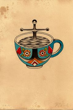 Kyler Martz_ I want this as a tattoo, I love coffee that much!