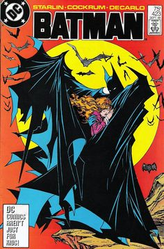 Batman #423 by Todd McFarlane blew my mind. Everything from the framing of the moon, to the sharp points of the cape, to the delicate nature of the damsel in distress. As a wannabe doodler, this cover was one of my finest recreations.