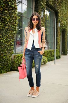 Match point: VivaLuxury's Annabelle Fleur in Tory Burch sneakers