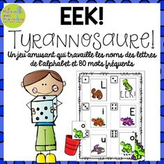 Now EDITABLE!Here is a fun game to get your students practicing their letter names and sight words! EEK is great for small group time, but can also be used as an independent centre - complete with I Can cards to encourage student independence. All that is required to play the game is whats included in this pack and a die for each group.