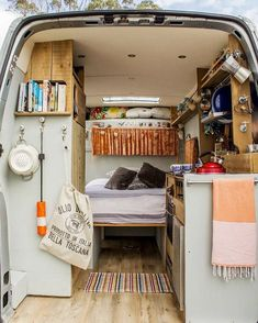 Those who know me well, know that I'm obsessed with TINY HOMES. It's been a dream of mine to have a converted bus.. but lately I'm thinking #campervan its smaller, cheaper, and enough space for me and Amelia to travel comfortably. I found this photo on Pinterest (I tried to find the original source but could not). This is the general idea of what I want for our future van! #vanlife #familyoftwo