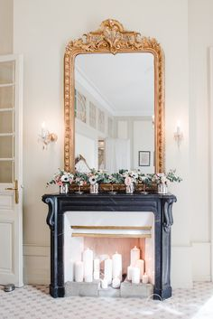Delicate details of a winter ceremony in Geneva Palace, Home Furnishings, Mirror, Winter, Delicate, Furniture, Home Decor, Romantic Things, Winter Time