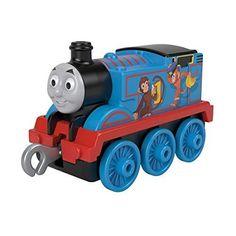 Thomas & Friends TrackMaster Sodor Safari Push Along Metal Engine - Thomas