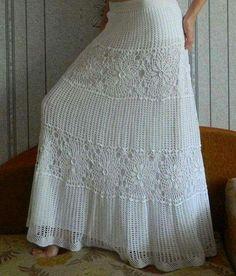 By Mariza Crochet Designer: Saia Longa Crochet c Gráficos. BY Mariza