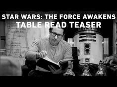 Star Wars: The Force Awakens Table Read Teaser.
