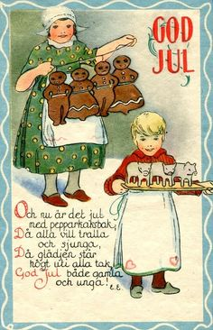 Nordic Thoughts: Nothing like gingerbread men...and women...goats, hearts, pigs...