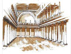 HISTÓRIA DA ARQUITETURA - Roma - História da Arquitetura (Basílica)