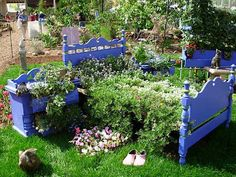 A raised bed in a bed!