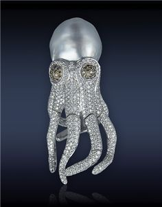 Jacob & Co. Octopus ring...♡