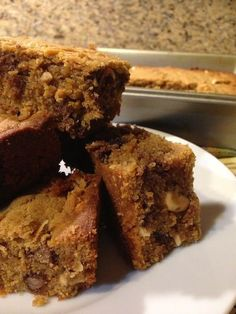 Everyday Baking: Peanut Butter Blondies