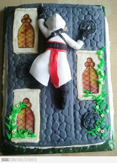 Assassin's Creed Cake =)