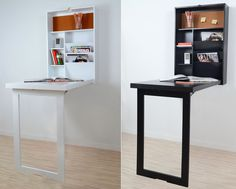 Fold Up Wall Mounted Desk Table Space Saver Computer Hanging Foldable Study ST79 | eBay