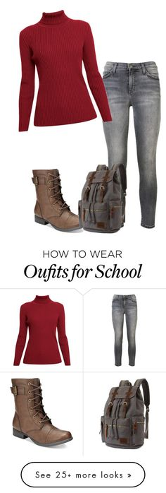 """""""Untitled #238"""" by guerriero-368 on Polyvore featuring Current/Elliott, American Rag Cie and Rumour London"""