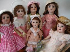 Bleuettes On Holiday - Vintage Bleuettes