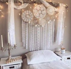 hippie room decor 733523858047142176 - Hippy Room 612630355547558138 – Fox teen room idea – ZN Coaching – # Idea … Teen fox bedroom idea – ZN Coaching – Source by Dream Catcher Decor, Dream Catcher Bedroom, Lace Dream Catchers, Dream Catcher Wedding, Beautiful Dream Catchers, Dream Catcher White, Dream Catcher Boho, Ideias Diy, Home And Deco