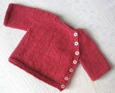 Baby Pullover stricken knopf weiss - Latoya Higgins Page Baby Knitting Patterns, Knitting For Kids, Baby Patterns, Free Knitting, Knitting Projects, Diy Tricot Crochet, Crochet Jumper, Crochet Baby, Tunisian Crochet