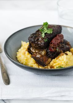 Braised Chipotle Short Ribs | www.kitchenconfidante.com