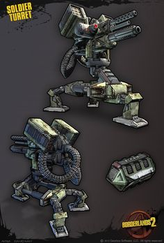 BORDERLANDS 2 ART MEGA THREAD!!!! [OMG IMAGE HEAVY] - polycount
