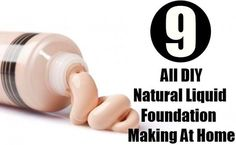 Natural Makeup - DIY Natural Liquid Foundation Making At Home-Great detailed explanation of different options - You only need to know some tricks to achieve a perfect image in a short time. Natural Makeup, Natural Skin Care, Natural Beauty, Organic Makeup, Diy Foundation, Natural Foundation, Diy Savon, Mascara, Piel Natural