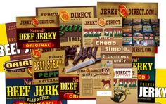 Many types of Jerky to select from