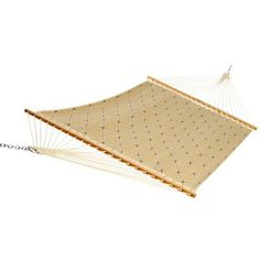 DuraCord Quick Dry Comfort Hammock Large Gold/Brown