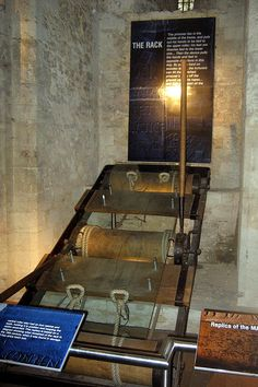 The Rack was the the Tower of London's most infamous instrument of torture. It was a large iron frame containing three wooden rollers. One w...