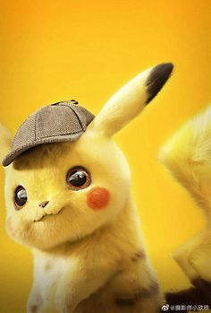 Pokémon: Detective Pikachu poster, t-shirt, mouse pad Pikachu Pikachu, O Pokemon, Pokemon Fusion, Pikachu Tumblr, Pokemon Cards, Cartoon Cartoon, Iphone Cartoon, Cute Pokemon Wallpaper, Cute Disney Wallpaper