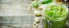 Qooking.ch | Pesto à la pistache, basilic et menthe poivrée Pesto, Beverages, Food, Peppermint, Pistachio, Basil, Greedy People, Meals, Yemek