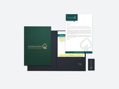 Presentation Package, Financial, Investment, Green and Gray, Corporate Branding