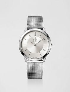 6c541f0223e RELÓGIO CALVIN KLEIN PULSEIRA DE AÇO PRATA - calvinklein Relógios De Prata