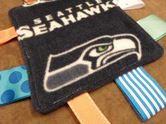 Seattle Seahawks Unisex Baby Fleece Lovie with by tbllovies, $6.50