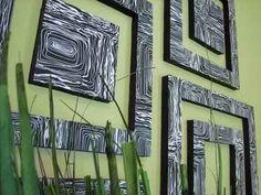 Cheap Diy Home Decor Diy Furniture Interior Design Diy Wall Art Diy Wand, Diy Arts And Crafts, Home Crafts, Diy Crafts, Diy Wall Art, Diy Wall Decor, Art Decor, Diy Artwork, Room Decor