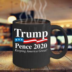 Cute Coffee Mugs, Coffee Cups, Maxwell House Coffee, Trump Pence, Donald Trump, America, Cricut Explore, Coffee Mugs, Donald Tramp