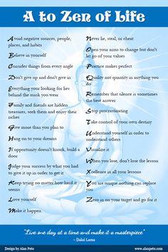 Dalai Lama's Guide to Life