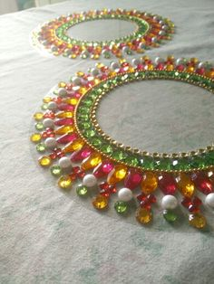 Pretty borders for your diwali diyas ! Ping me for this gorgeous design