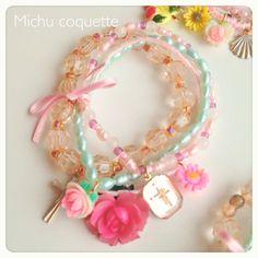 Michu coquette bracelets
