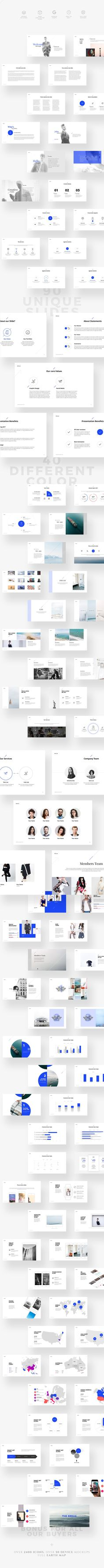 KULA Keynote Template by ShapeSlide on @creativemarket Modern, creative presentation templates with a great background and a lot of slides. Have an inspiration, grab some ideas or use directly the ready to use layout for your product, portfolio or business.
