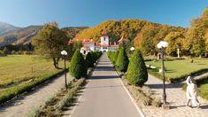 Manastirea Brancoveanu - Sambata de Sus Sidewalk, Country Roads, Walkway, Pavement