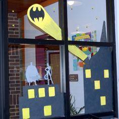 Green Township has gotten their Batman on for the Power Up...Read! Summer Reading Program.