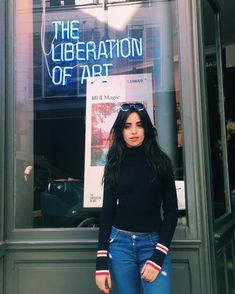 Camila Cabello Commends Shawn Mendes Amid Fifth Harmony Drama Camila Cabello Style, Selena, Camila And Lauren, Fifth Harmony, Mode Outfits, Girl Crushes, My Girl, Beautiful People, Street Style