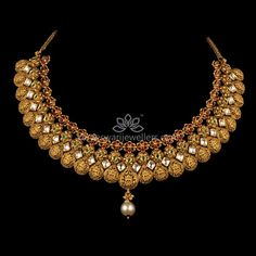 Fusion of Modish and Traditional Real Diamond Necklace, Delicate Gold Necklace, Diamond Necklaces, Diamond Jewelry, Buy Earrings, Necklace Online, Earrings Online, Necklace Designs, Jewelry Design