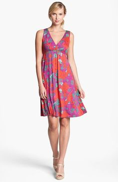 FELICITY & COCO Print Empire Waist Dress (Nordstrom Exclusive) |  | Floral Dress Replacement w/ Empire Waist