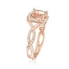 Not a fan of the shape of the ring, but this is the prettiest shade of rose gold