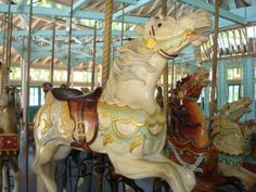 """New Orleans City Park Carousel! or what we always called them """"The Flying Horses"""""""