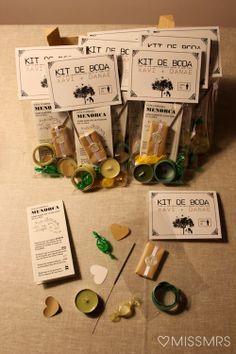 La boda de X D: El kit de boda