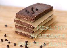 Chocolate Peanut Butter Fudge Brownie Protein Bars