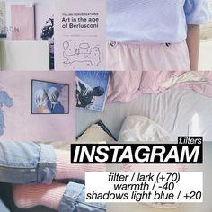 สูตรแต่งรูป instagram